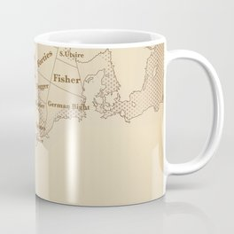 Vintage Style shipping forecast key Coffee Mug