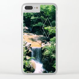 Japan: Rivers II Clear iPhone Case