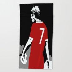 Liverpool FC Legendary No.7 Kenny Dalglish  Beach Towel