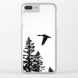 Couple of Ducks Clear iPhone Case