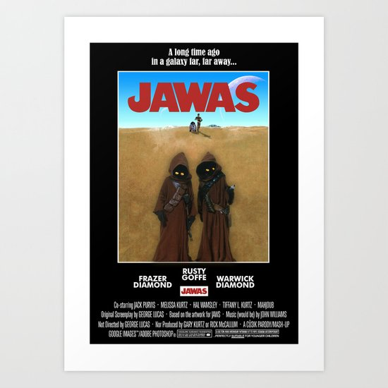 JAWAS Art Print