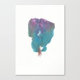 DevonDeville's Vagina Monotype Canvas Print