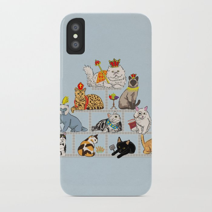 Cats Pyramid iPhone Case