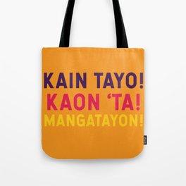 Filipino Kitchen Loteria - Let's Eat Tote Bag