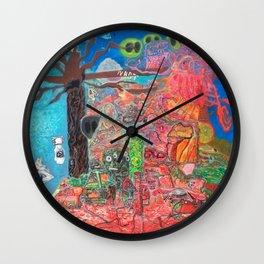 Akashic Library Wall Clock