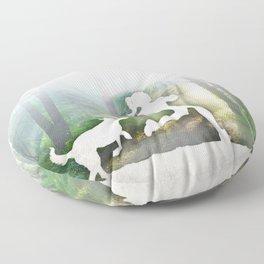 Forest Run Floor Pillow