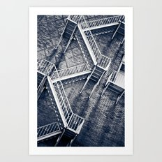 Escher's Escape Art Print