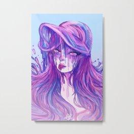 Pink Lagoon Metal Print