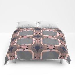 "Abstract Streets ""Chitauli"" Comforters"