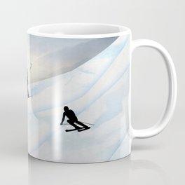 Skiing in Infinity Coffee Mug