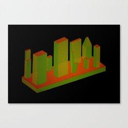 3A3 Canvas Print