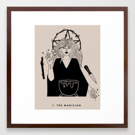 1. The Magician Framed Art Print