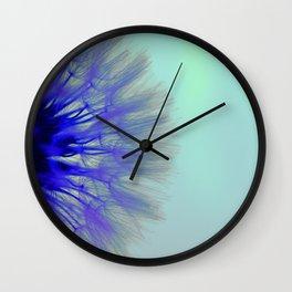 Blowing Dandelion V Wall Clock