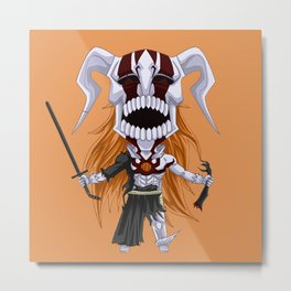 Chibi Hollow ichigo Metal Print
