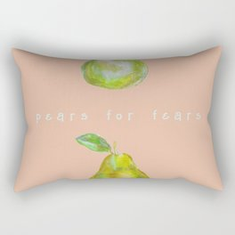 Pears for Fears Rectangular Pillow