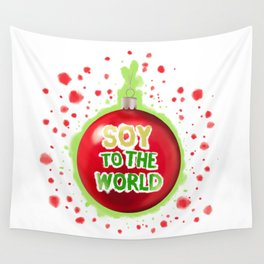 Soy to the World Wall Tapestry