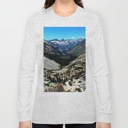 Sierra Nevada Mountain Landscape Long Sleeve T-shirt