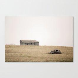 Abandoned: South Dakota 3031 Canvas Print