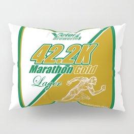 42.2K Marathon Gold Lager Pillow Sham