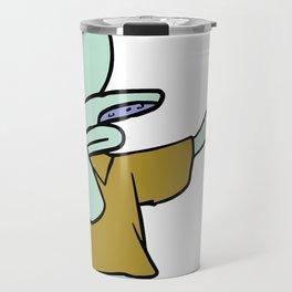Squitward Travel Mug