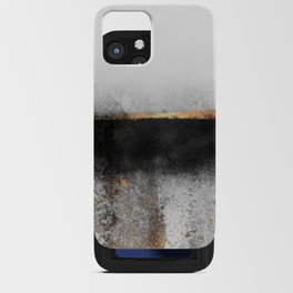Soot And Gold iPhone Card Case