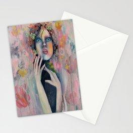 Disturbing peachy love. Stationery Cards
