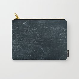 Wooden Dark Carry-All Pouch