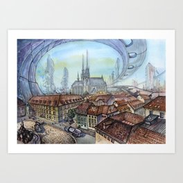 Czech Republic, Brno - 2117 Art Print