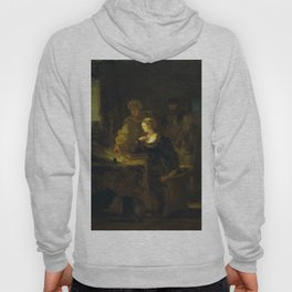 "Jean-Honoré Fragonard ""The Abdication of Mary, Queen of Scots"" Hoody"