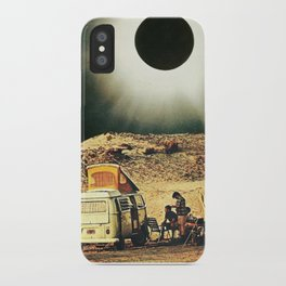 Road Trip Into the Void iPhone Case