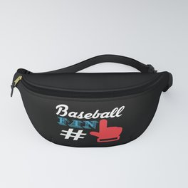 Baseball Sports Training Playoff Gift Fanny Pack