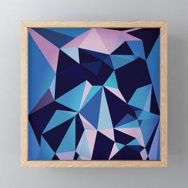 0047 // blux Framed Mini Art Print