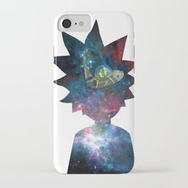 Rick and Morty Space Ship iPhone Case