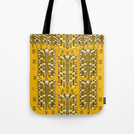 Rain showers in the rain forest of bloom and decorative liana Tote Bag