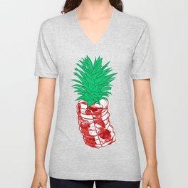 Pineapple meat Unisex V-Neck