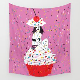 sprinkle the love Wall Tapestry