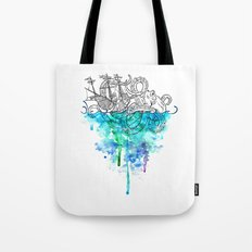 From the Deep, Deep Down. Tote Bag