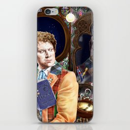 Doctor WHO and Occam's Whiskers iPhone Skin