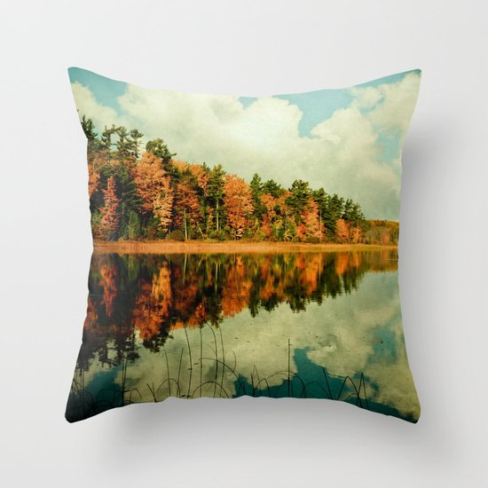 Birth of a Cloud Throw Pillow
