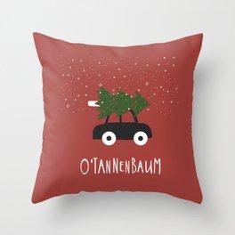 O'Tannenbaum Throw Pillow