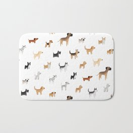 Lots of Cute Doggos Bath Mat