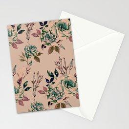 Lisianthus Pattern - Vintage Stationery Cards