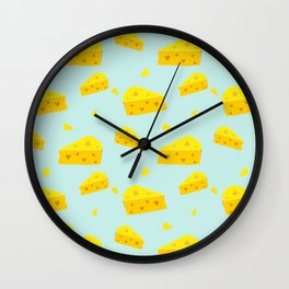Cheesy Love Wall Clock