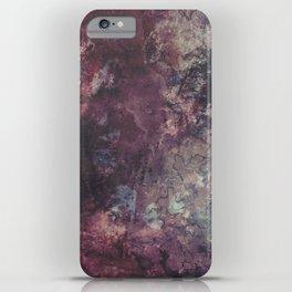 acrylic grunge iPhone Case