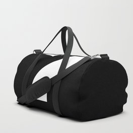 Question Mark (White & Black) Duffle Bag