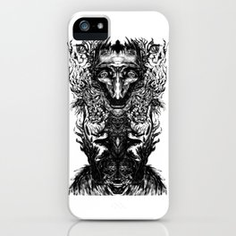 Test your Mind (t-shirt) iPhone Case