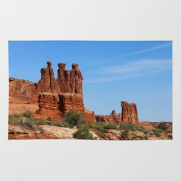 Three Gossips Arches National Park Rug