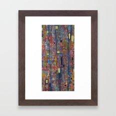 nervures Framed Art Print