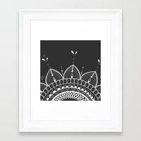 bonjour Framed Art Prints featuring Bonjour! by My Studio
