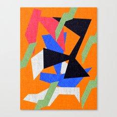 Deko Art Canvas Print